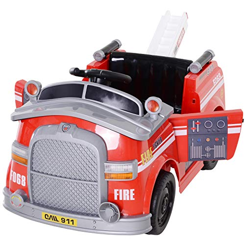 Paw Patrol Marshall Fire Truck Ride On Toy