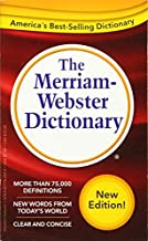The Merriam-Webster Dictionary, Newest Edition, (Mass Market Paperback)