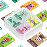 90 Pcs ACNH Amiibo Cards Game Tag for Animal Crossing Switch/Switch Lite/Wii U with Storage Case