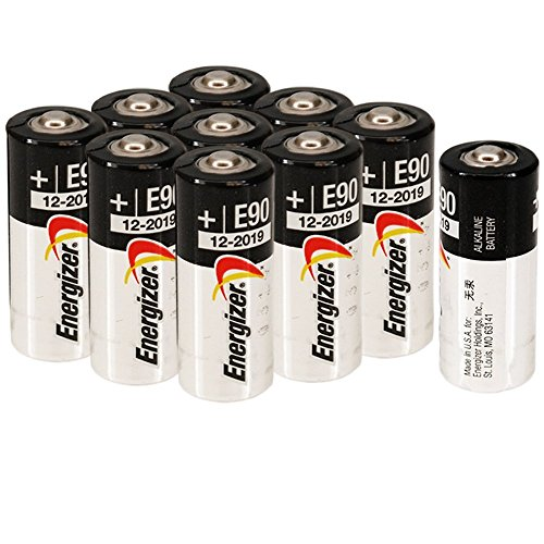 Energizer E90 LR1 N Size, 1.5 Volt Alkaline Batteries [10 pcs]