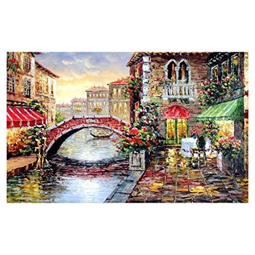 puzzel, mooie olieverfschilderij, grote puzzel, speelgoed, kinderen, educatief speelgoed, woonkamer, slaapkamer, vrije tijd, speelgoed