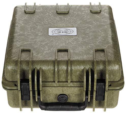 MFH Box, Kunststoff, wasserdicht, 36x41,9x19,5 cm, oliv