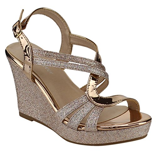 Top 10 best selling list for shoes color gold