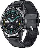 CNZZY Reloj inteligente con Bluetooth para hombre, con monitoreo de...