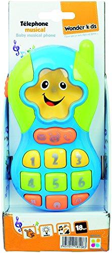 WDK Partner- Baby Telephone Musical, QF366-021