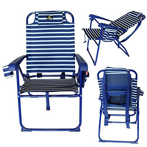 CreviCosta Fusion Silla, Aluminio, Azul Marinero, x