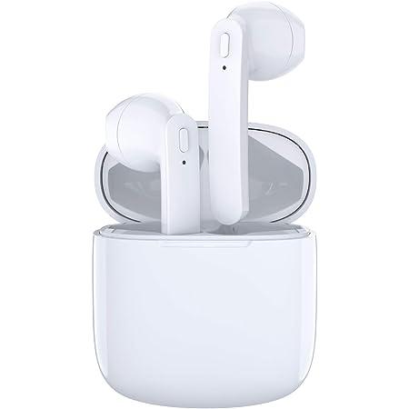 Bluetooth5.0 ワイヤレス イヤホン【2019最新左右独立作動型】iPhone/ios/android各機種対応 ブルートゥースtws Hi-Fi高音質 超軽量 連続音楽再生 左右分離 防水 マイク内蔵 自動ペアリング 両耳通話 オンボタン操作 技適&PSE認証済み