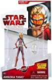 Star Wars 2009 Clone Wars Animated Action Figure CW-23 Ahsoka Tano (Space Suit)