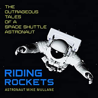 Riding Rockets audiobook cover art