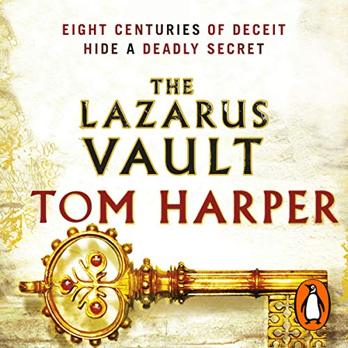The Lazarus Vault audiobook cover art