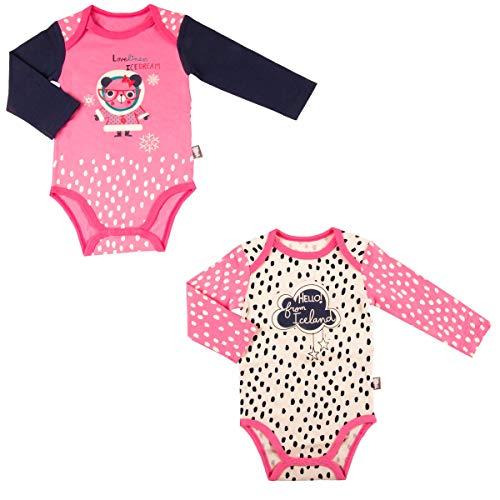Lot de 2 bodies bébé fille manches longues Loveliness - Taille - 18 mois (86 cm)