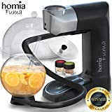 homia Smoking Gun Wood Smoke Infuser - Extended Plus Kit, 14 PCS, Portable Electric Smoker Machine with Accessories and Wood Chips - Cold Smoke for Food and Drinks