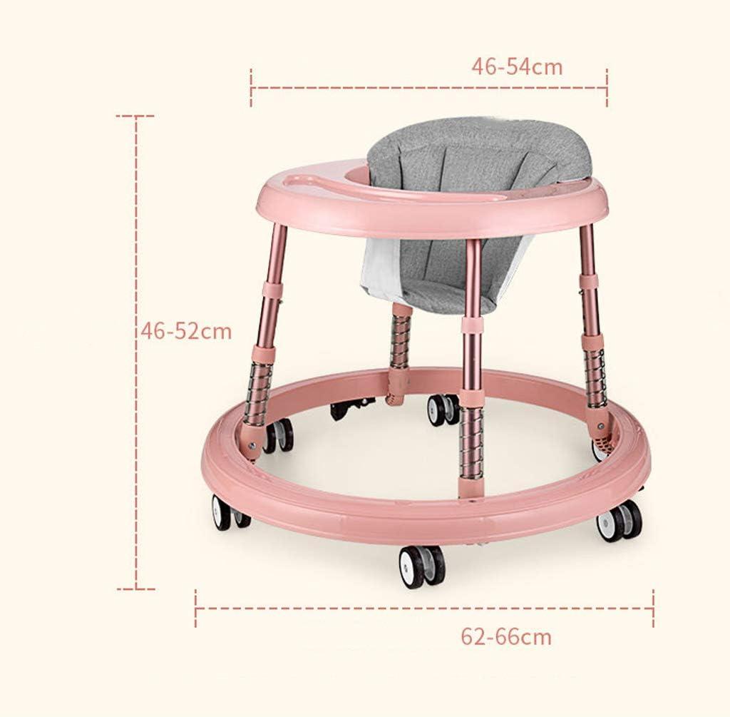 Trotteur Pour B/éb/és Trotteur Anti-o-jambes Rollover Multifonction Pliable Pour 6-18 Mois Enfant En Bas /Âge Gar/çon Et Fille A