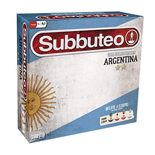 Eleven Force-EF-12517 Subbuteo Playset Argentina Edición Coleccionista, Color (12517)