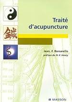 Traité d'acupuncture de Jean F. Borsarello