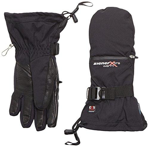 Ziener Damen KANTU AS PR DCS Ski-Handschuhe / Wintersport   wasserdicht, atmungsaktiv, sehr warm, schwarz (black), 6.5