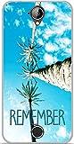 ONOZO Soft TPU Gel Case for Acer Liquid Z330 Palm Trees 3
