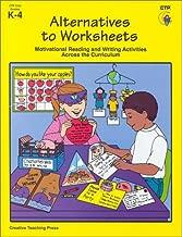 Alternatives to Worksheets: Grades K-4
