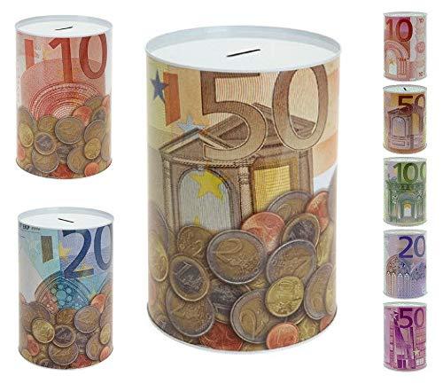 Vani Spardose Metallspardose Metall Eurospardose Euro Geldspardose Sparschwein Jumbo XXL (1x)