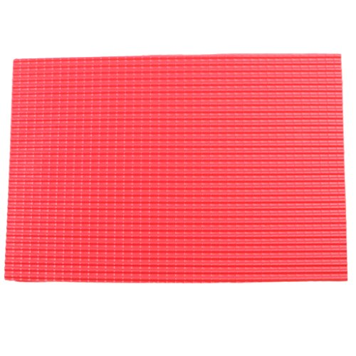 Homyl 5er-Set DIY Kunstoff Ziegel Platte Dachplatte Material für Modellbau