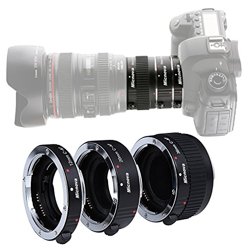 Amazon.com | Macro Lens Tube Extension for Canon DSLR