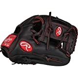 Rawlings R9YPT2-2B-3/0 Baseball Youth Pro Taper 11 1/4' Inf Gloves, Right Hand Throw