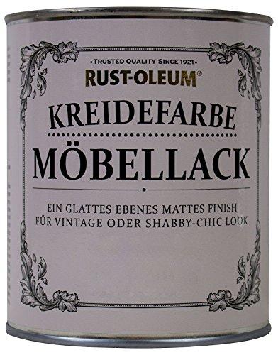 Rust Oleum Möbellack Kreidefarbe Antik Weiss Matt 750 ml