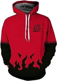 Unisex 3D Print Naruto Hoodie Sweatshirt Anime Pullover Kakashi Jacket