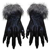 ryadia (TM) 1par de guantes Lobo de Halloween Festival Disfraz partes COSS Play Guantes de...