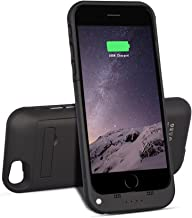 Btopllc for iPhone 6 / 6s Battery Case 3500mAh Charger Case Power Bank Portable Charger 4.7 inch Charging Case Extended Battery Pack Power Cases LED Battery Indicator Juice Bank - Black