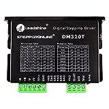 STEPPERONLINE デジタルステッピングドライバー 0.3-2.2A 10-30VDC 1/64 マイクロステップ解像度 Nema 8 11 14 16 17 ステッピングモーター用