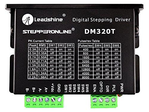 STEPPERONLINE Digitaler Schrittmotor Treiber 0.3-2.2A 10-30VDC Stepper Motor Driver Für Nema 8,11,14,16,17 Schrittmotor CNC
