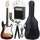 McGrey Rockit guitare électrique ST set complet sunburst