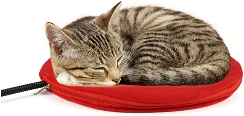 Pet Heating Mat, Dog Cat Electric Heating Mat Indoor Waterproof Warming Mat with Chew Resistant Steel Cord