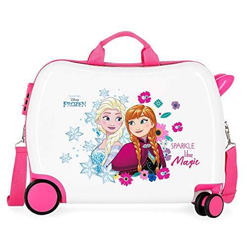 Disney Frozen Sparkle Like Magic Maleta Infantil Multicolor 50x38x20 cms Rígida ABS...