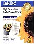 Carta alta risoluzione per stampanti Inkjet A4 patinata opaca originale Inktec