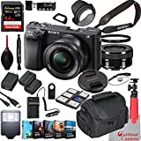 Sony Alpha a6400 Mirrorless Camera with 16-50mm...