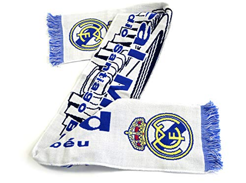 Real Madrid Écharpe Stadion Bleu/Blanc