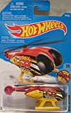 Hot Wheels 2016 Sky Show Skyfire Helicopter 137/250, Maroon and Yellow