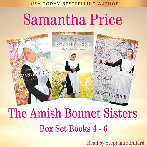 The Amish Bonnet Sisters Boxed Set: Books 4-6 Audiobook By Samantha Price cover art