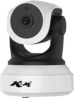 「C24WIP/SD32」C24S 100万画素 SDカード32GBセット 防犯カメラ 新モデル Vstarcam C7824WIP WIFI 屋内用 監視 ネットワーク カメラ 宅配便 K&M