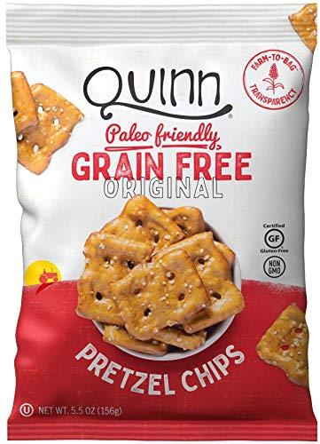 Quinn Chips Pretzel Grain Free Paleo Gluten Free, 5.5 Ounce