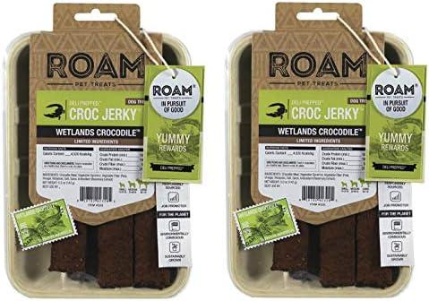ROAM Pet Treats Croc Jerky for Dogs Crocodile Jerky Dog Treats Non GMO No Antibiotics or Growth product image