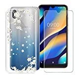 HHUAN Case for Wiko View 3 Lite Soft Transparent Silicone