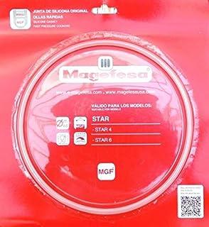 Plastiken MAGEFESA Goma Olla Star 61 Blister, Negro