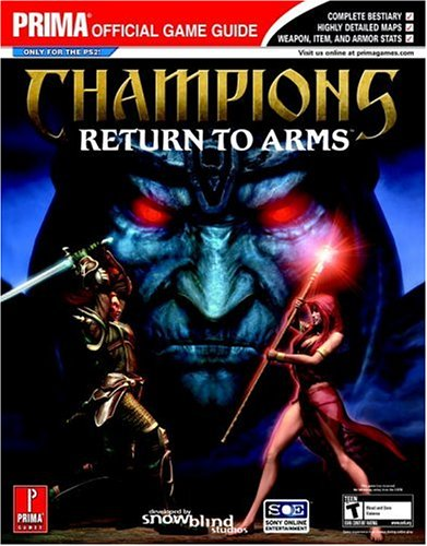 Champions: Return to Arms: Prima Official Game Guide (Prima Official Game Guides)