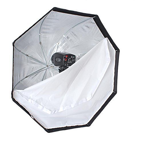 Godox 32 inches / 80cm Umbrella Octagon Softbox Reflector Diffuser with Carrying Bag Compatible for Studio Photo Flash Speedlight