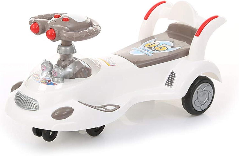 Kinder verdrehen Autospielzeugautobabywanderermusikkinderspielzeugautogeschenk (Farbe   C)
