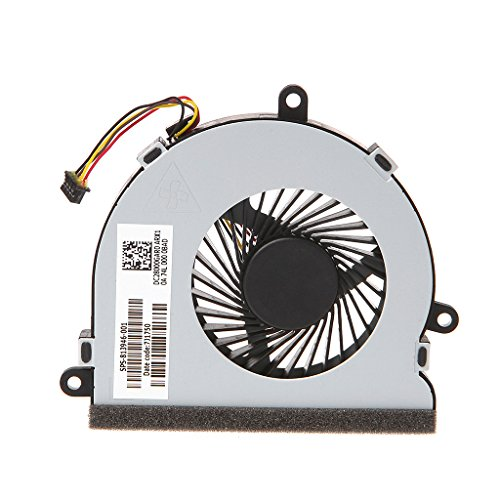 siwetg Laptop Cooler CPU Cooling Fan para HP 15-AC Series DC28000GAR0 SPS-813946-001
