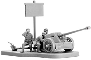 Anniston Kids Toys, 1/72 PAK40 M30 3D Anti Tank Cannon Assembly Model Building Puzzles Education Toy Models Toys Perfect F...